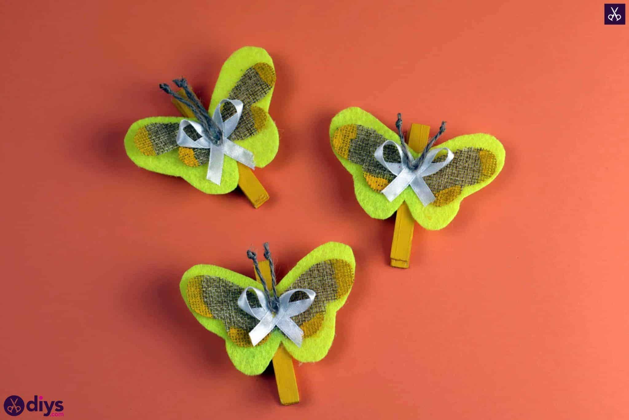 Comment fabriquer un papillon à partir d'une pince à linge simple projet coloré 2048x1366