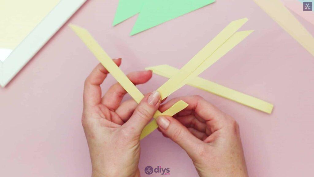 Diy origami flower art step 3b