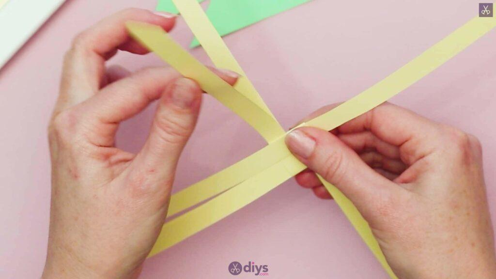 Diy origami flower art step 4