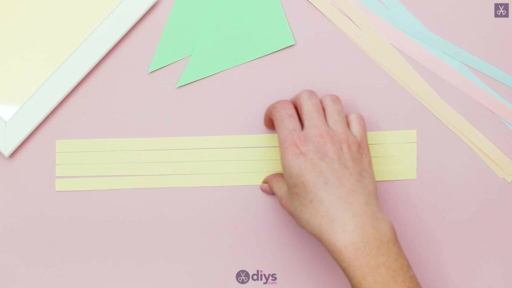 Diy origami flower art step 2