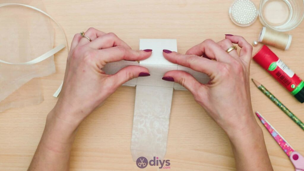 Diy mini wedding gift box step 5