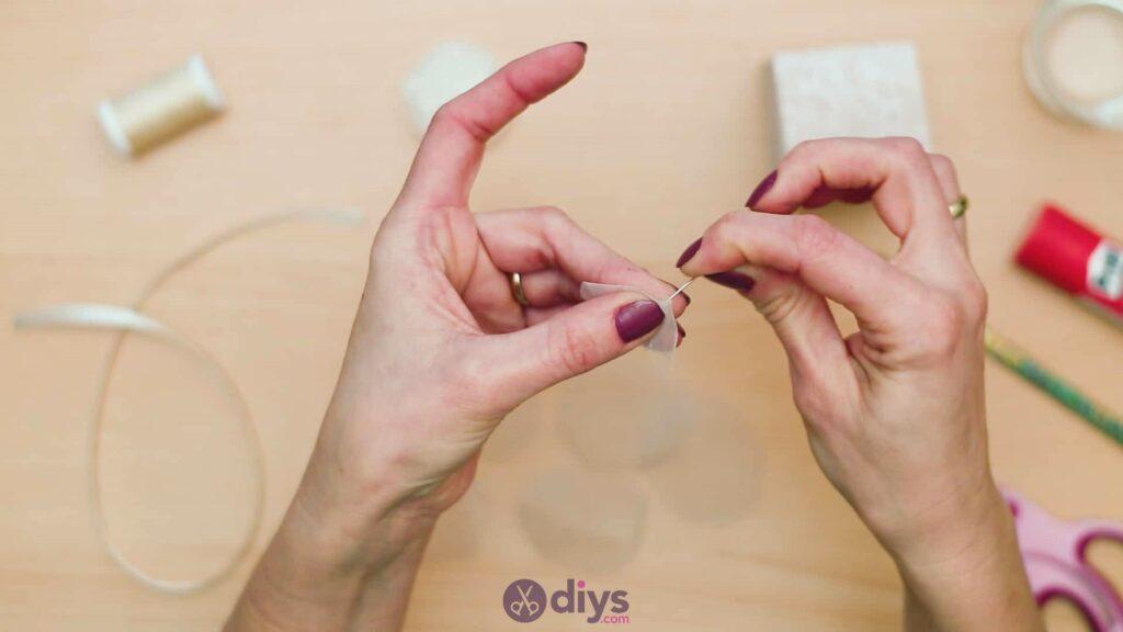 Diy mini wedding gift box step 8a