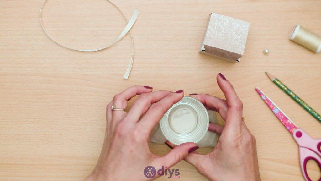 Diy mini wedding gift box step 7a
