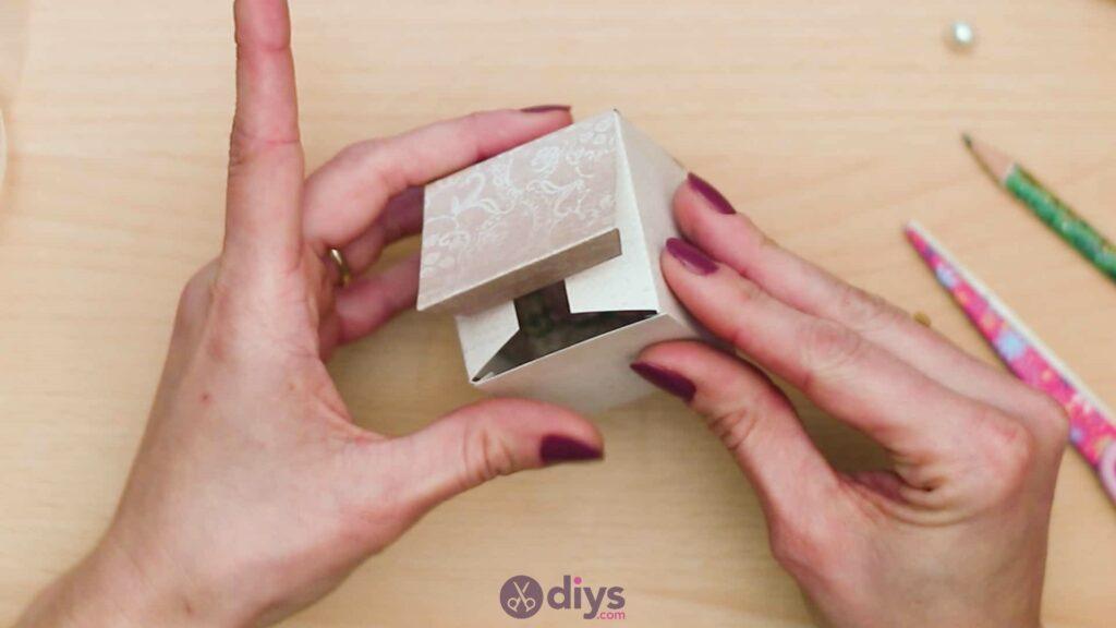 Diy mini wedding gift box step 6d