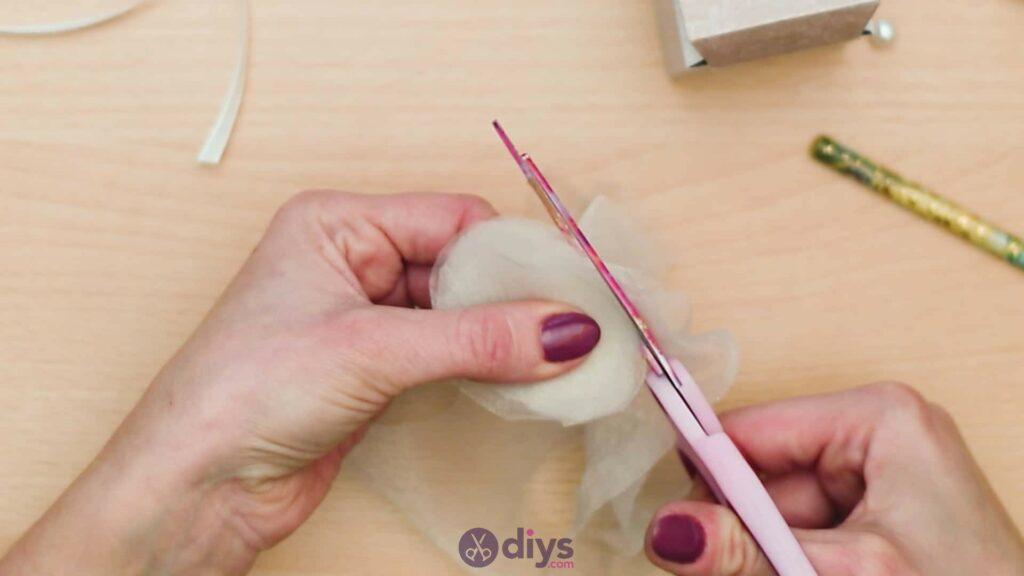 Diy mini wedding gift box step 7d
