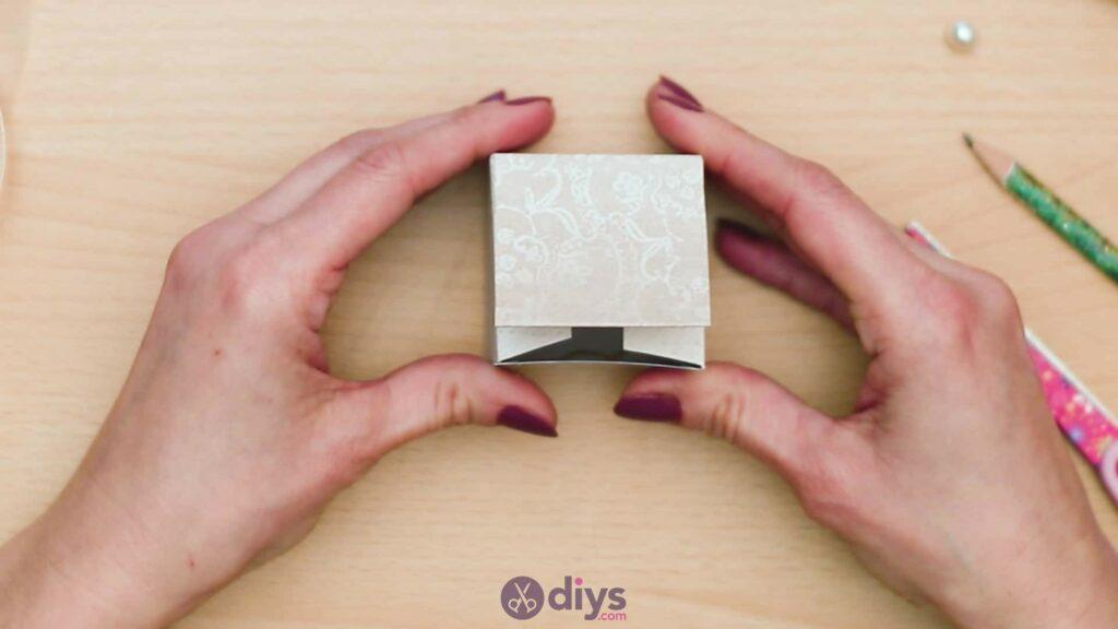 Diy mini wedding gift box step 6e