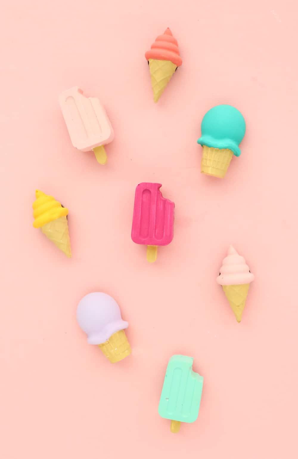 Aimants de crème glacée bricolage