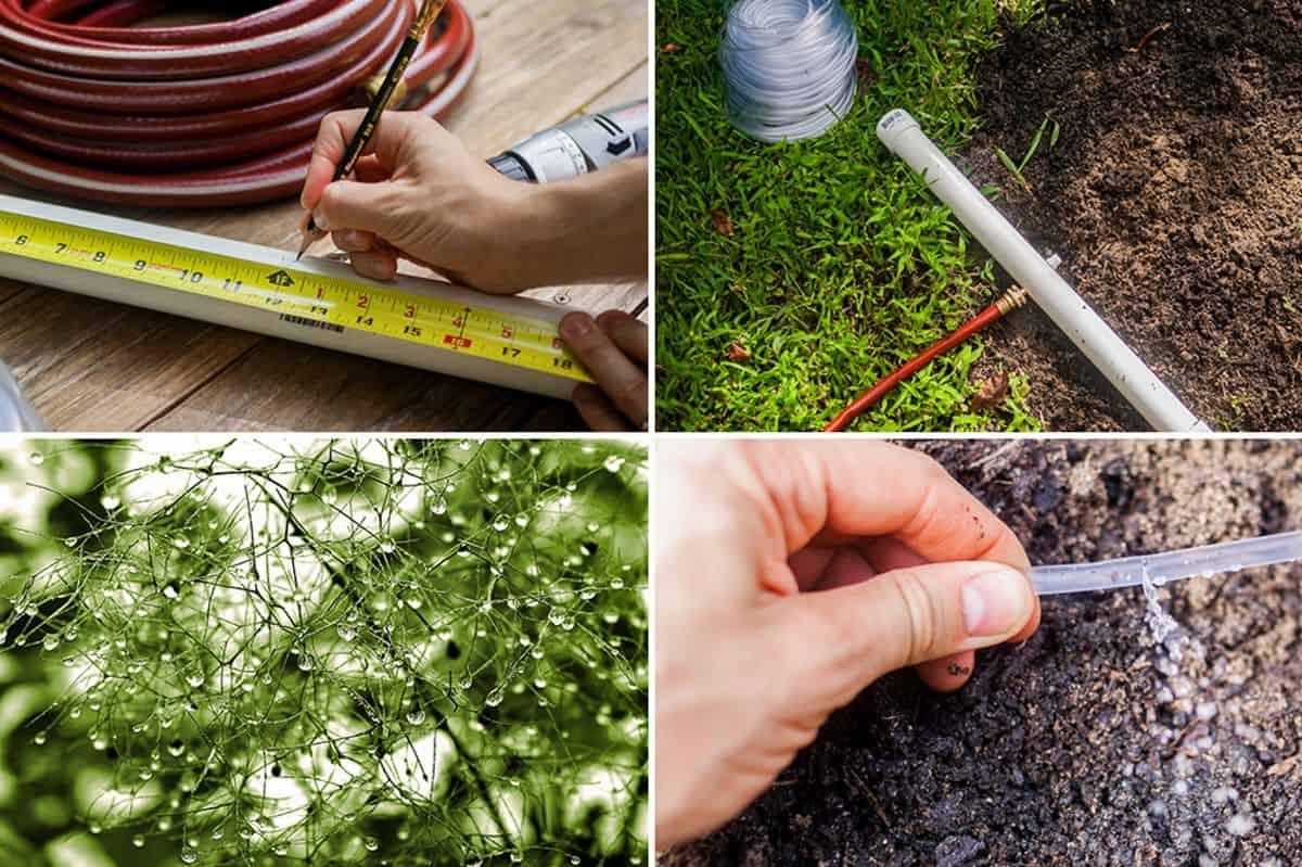 Système d'irrigation de jardin peu coûteux