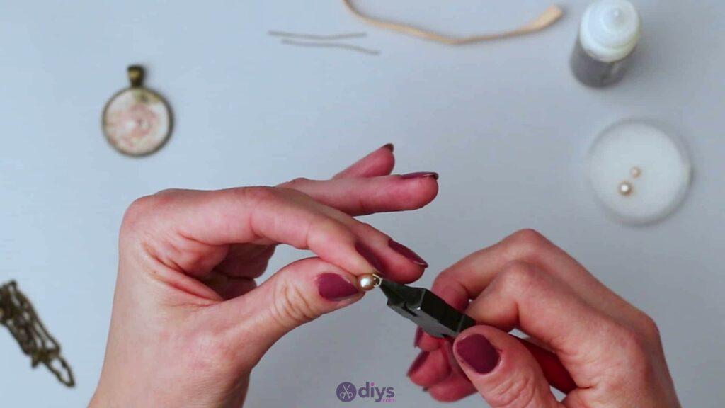 Collier lentille en verre étape 4c
