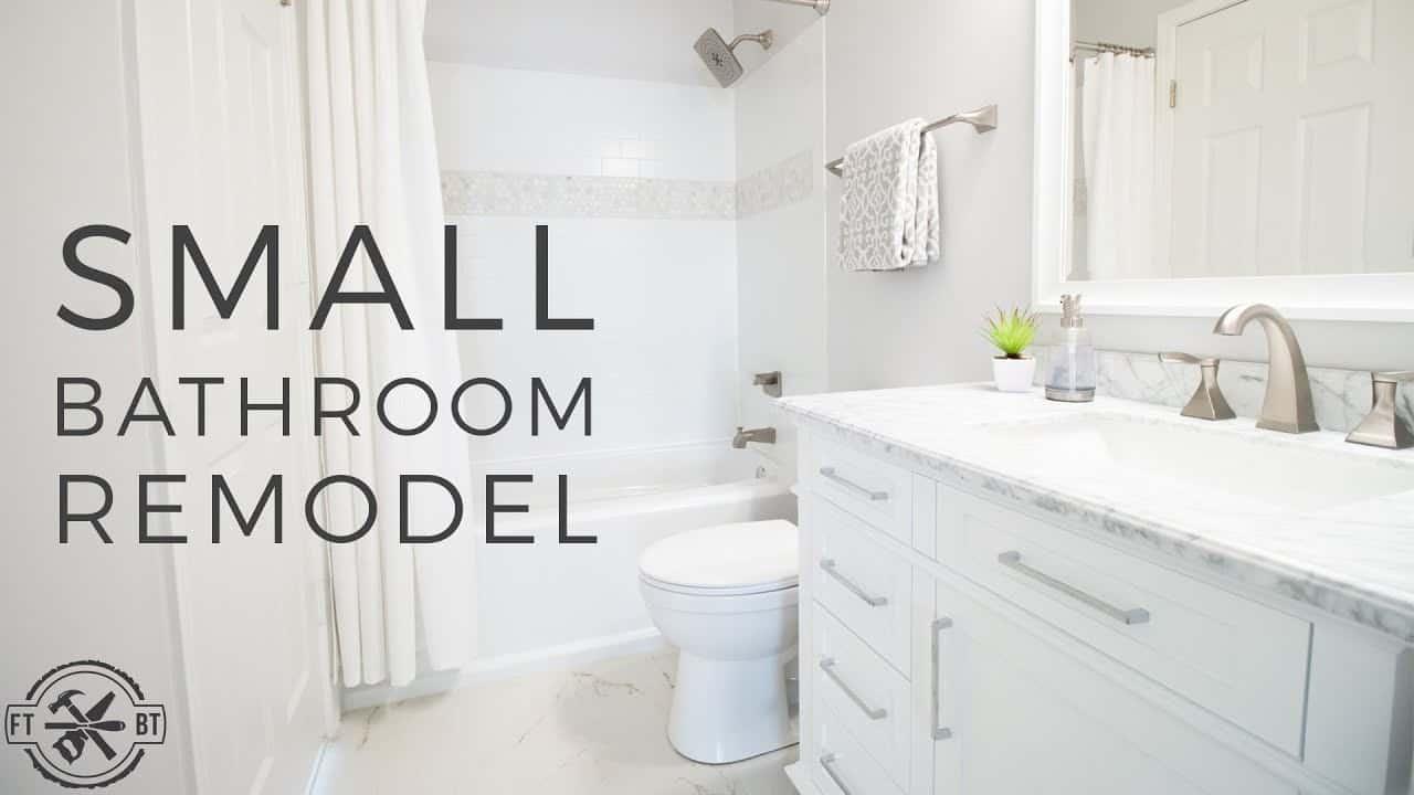 Comment rénover une petite salle de bain