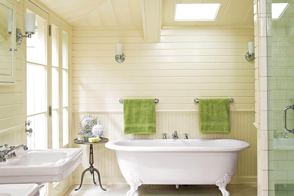 Conseils pour mettre à jour une salle de bain mais avec une touche vintage