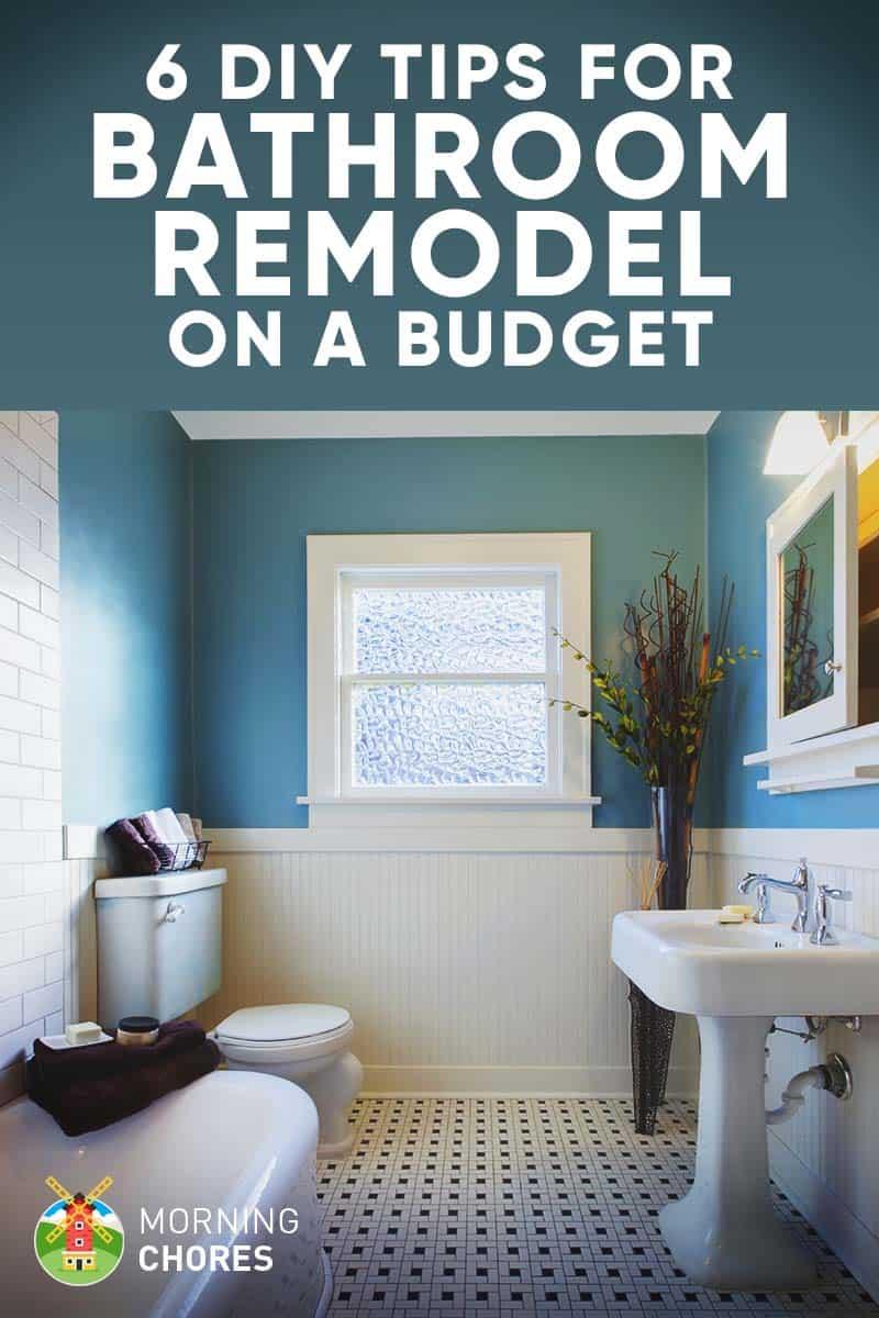 Conseils de bricolage pour remodeler votre salle de bain à petit budget