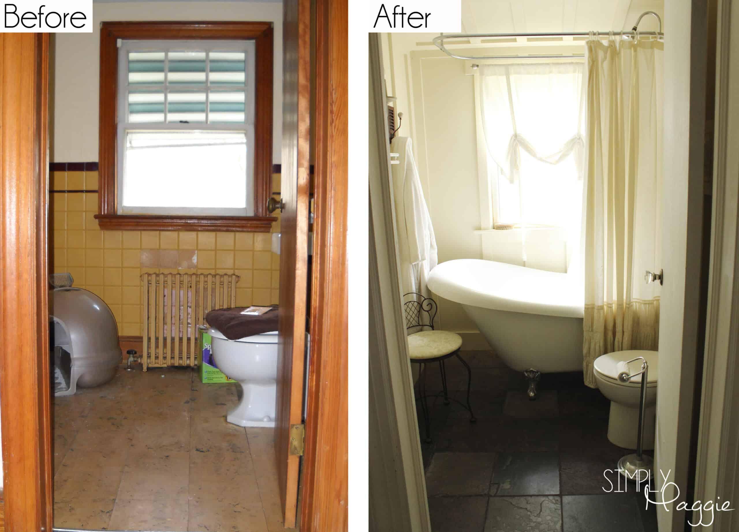 Rénovation d'une salle de bain de chalet