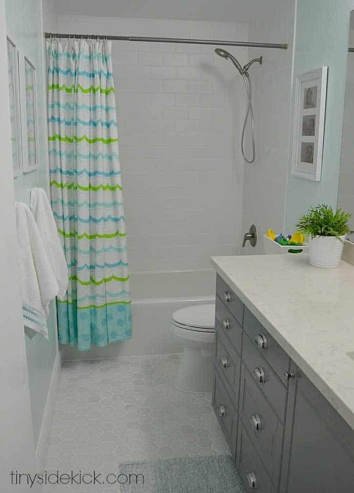Refonte et mise à jour de la salle de bain
