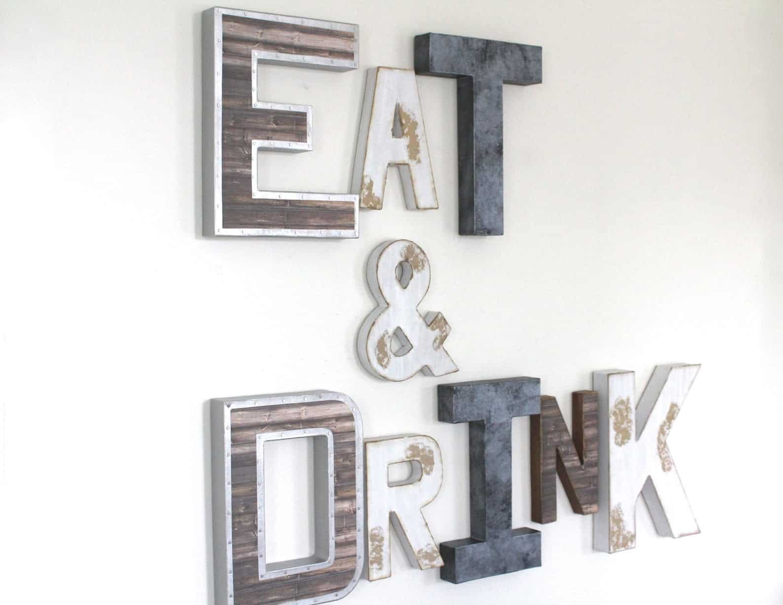 Manger et boire signe industriel