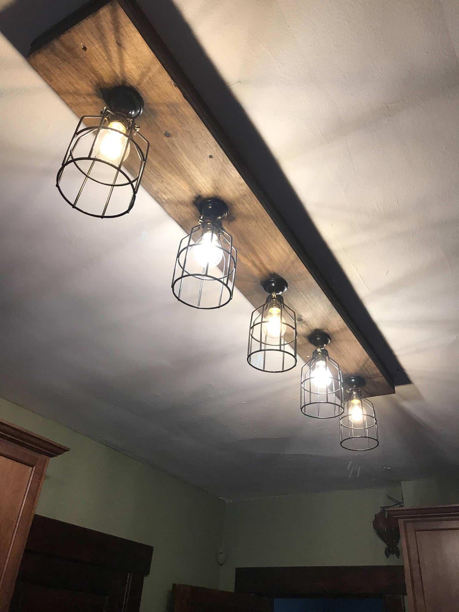 Lumières de faisceau de ferme