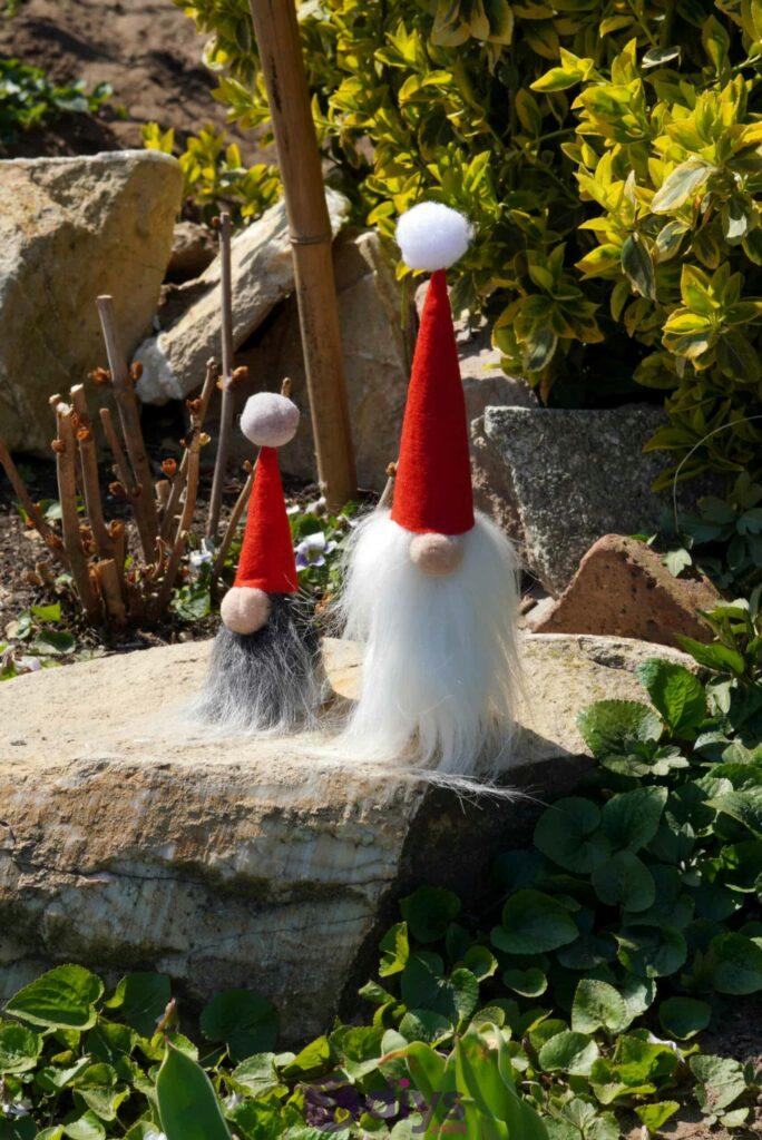 DIY Nains de jardin en béton Christmas Vive