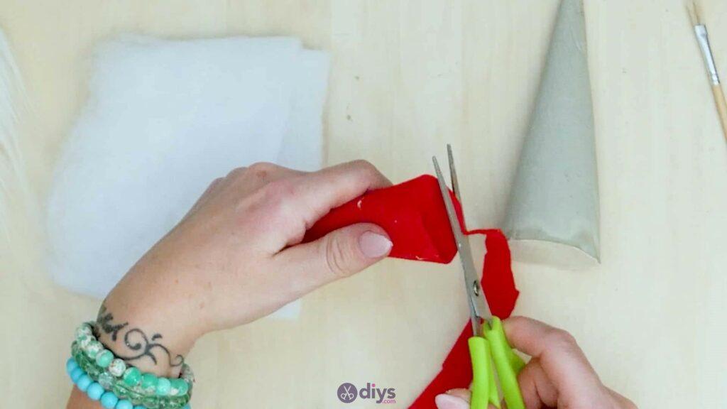 Bricolage nains de jardin en béton étape 7d