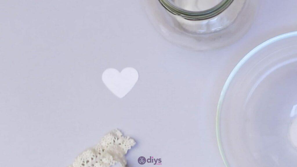 Vase à paillettes de fleurs bricolage à partir de bocaux en verre Étape 2b