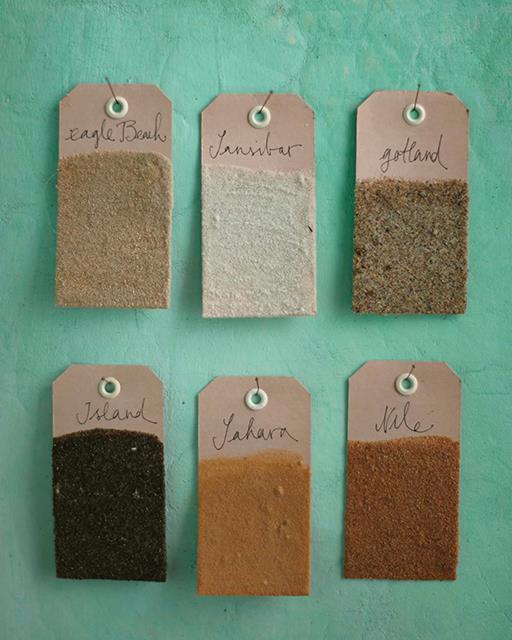 Balises mémoire de sable