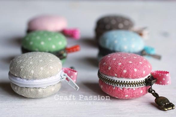 Porte-monnaie Macaron DIY