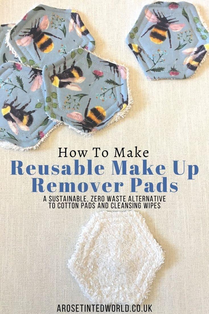 Comment faire des tampons démaquillants réutilisables 2