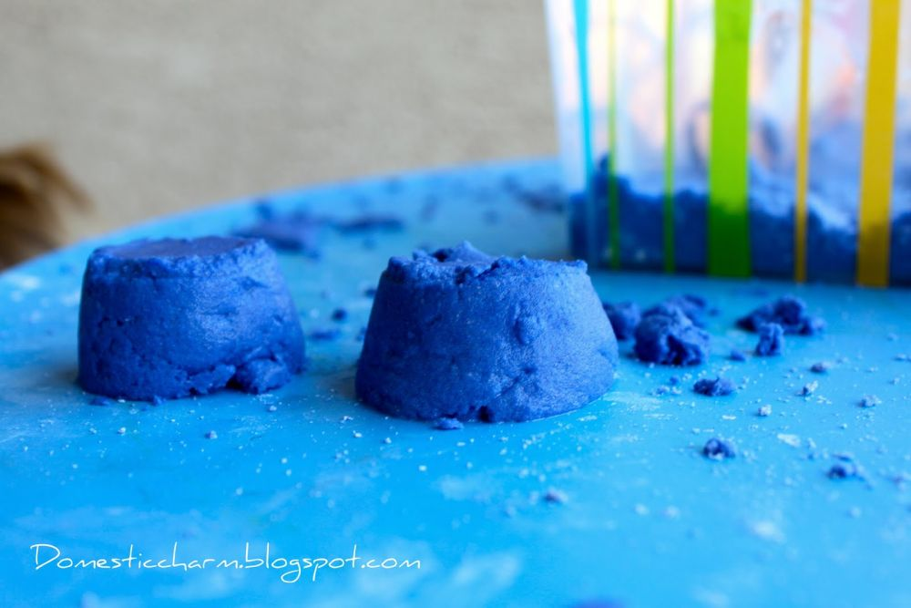 Diy lune bleu sable