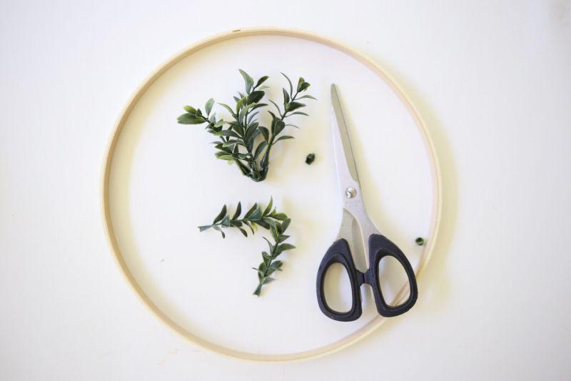 Affichage de photos florales bricolage Step1