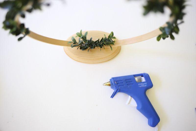 Affichage de photos florales bricolage Step4