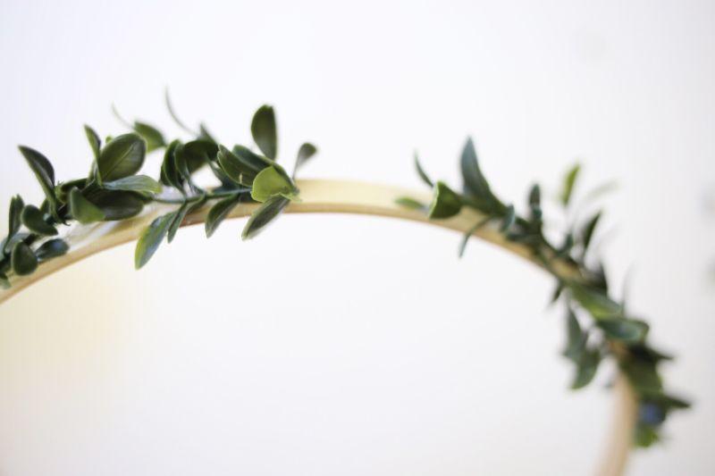 Affichage de photos florales bricolage Step3