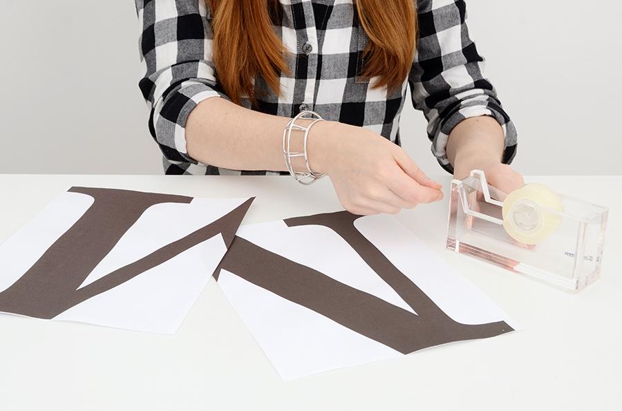 DIY monogramme en liège 2