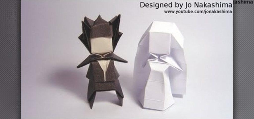 Mariée et marié géométrique