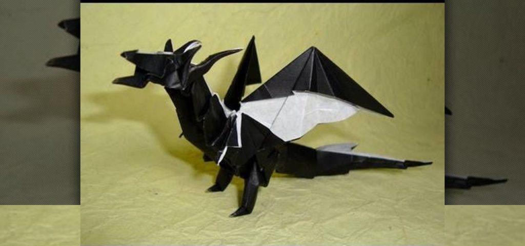 Origami de dragon