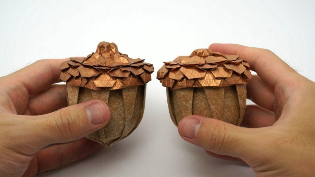 Gland en origami