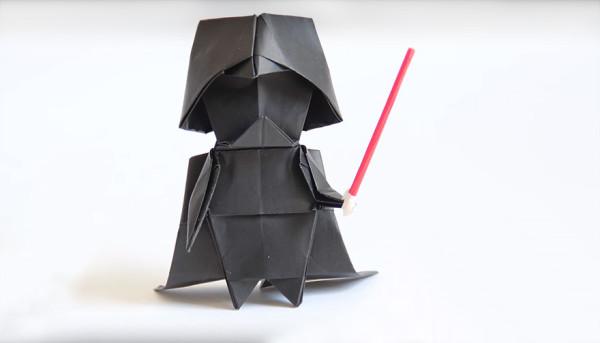 Origami Dark Vador