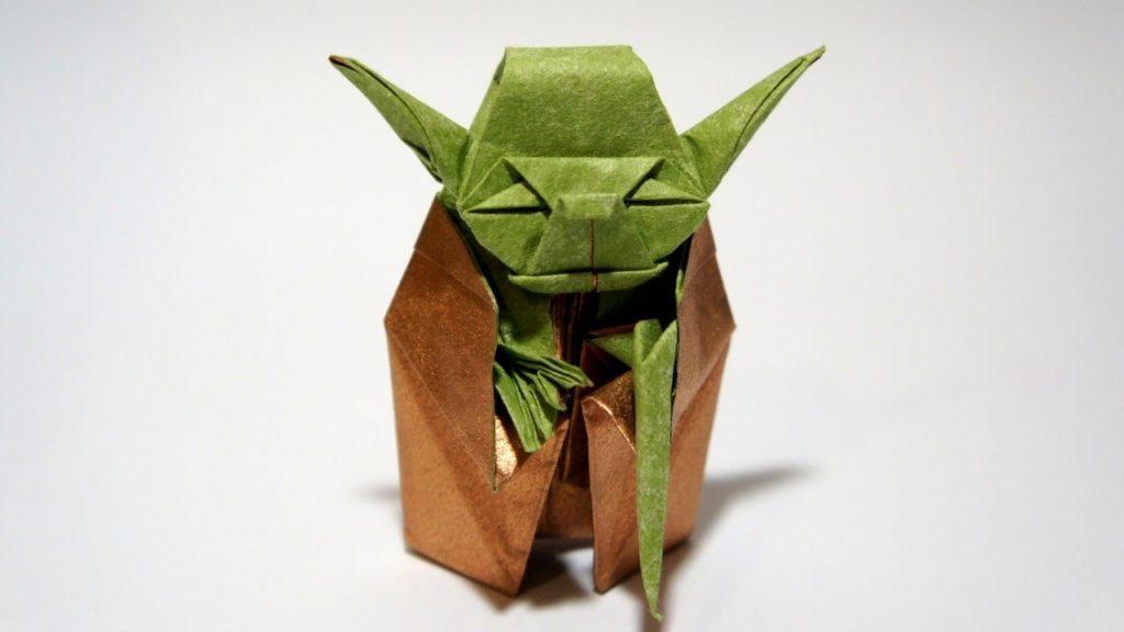 Maître Jedi Origami Yoda