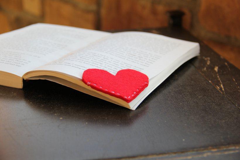 Signet coeur en feutre DIy