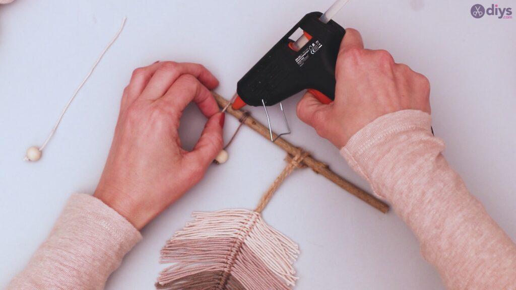 Tutoriel de décoration murale feuille de fil de bricolage (41)