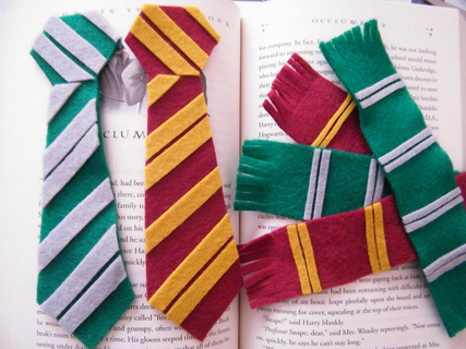 Marque-pages bricolage Harry Potter