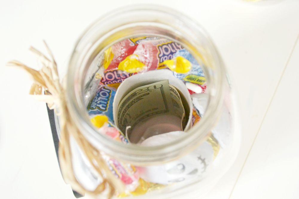 Halloween Boo Candy Jar Remplir