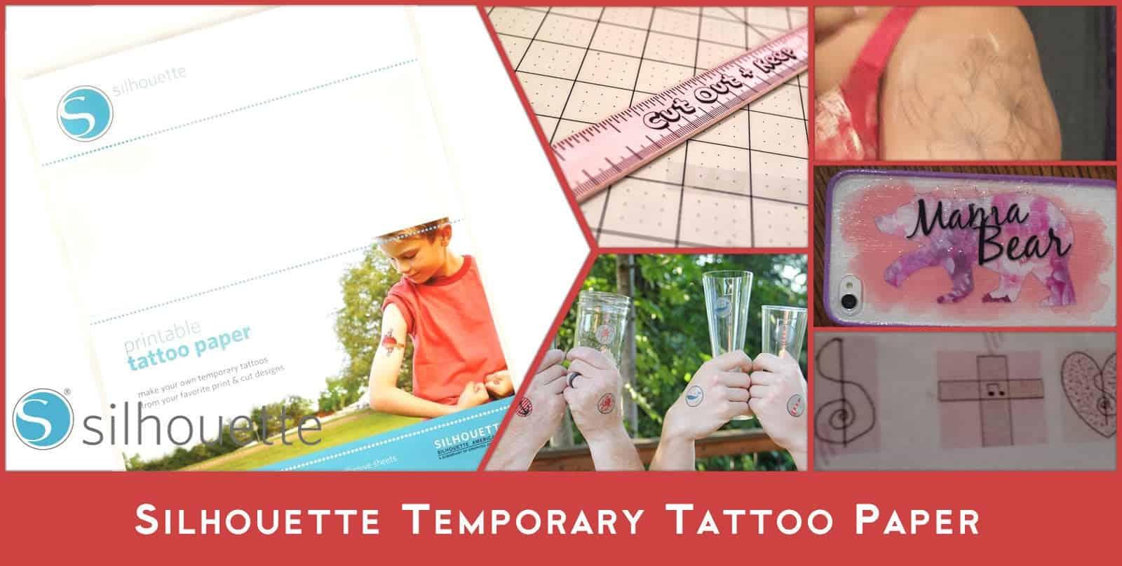 Tatouage temporaire coupe-vinyle