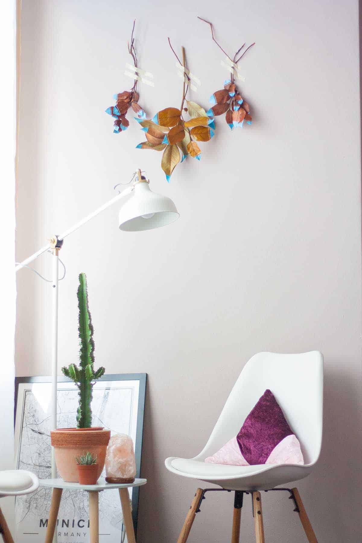 Ensemble de tentures murales Fall Leaf7