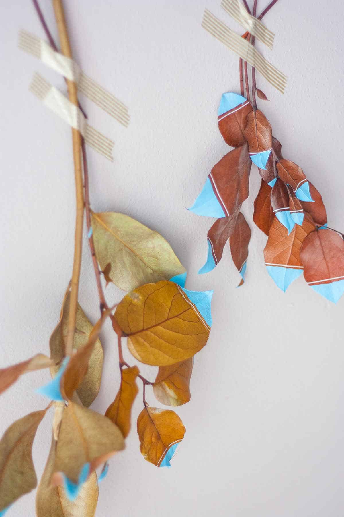 Ensemble de tentures murales Fall Leaf1