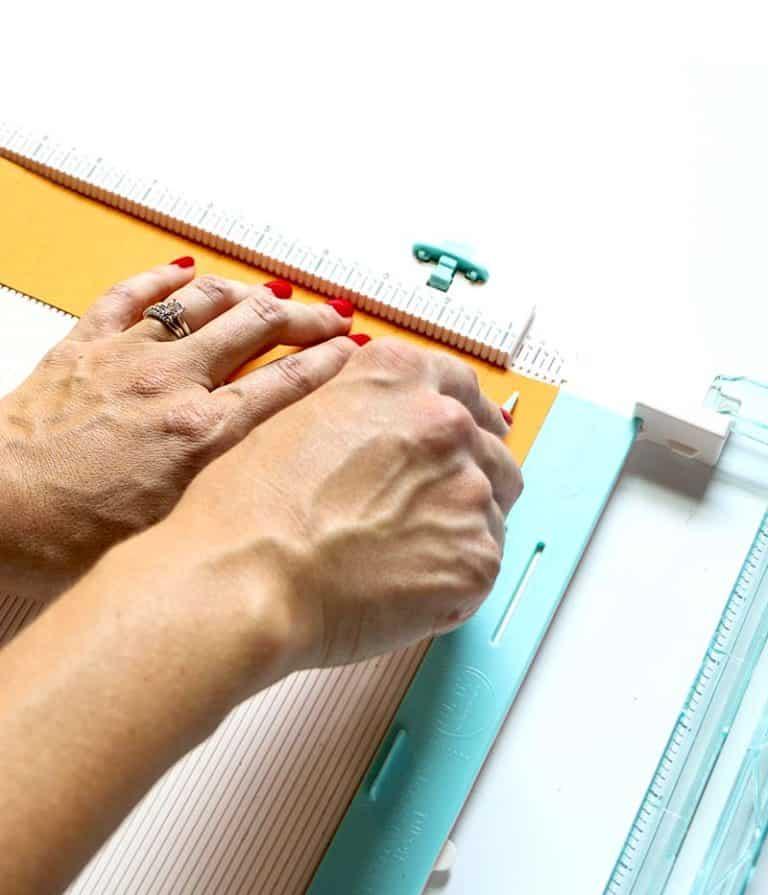 Guirlande de citrouille Rosette DIY le papier
