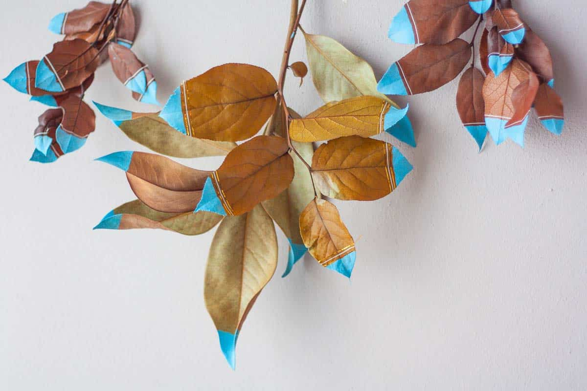 Ensemble de tentures murales Fall Leaf6