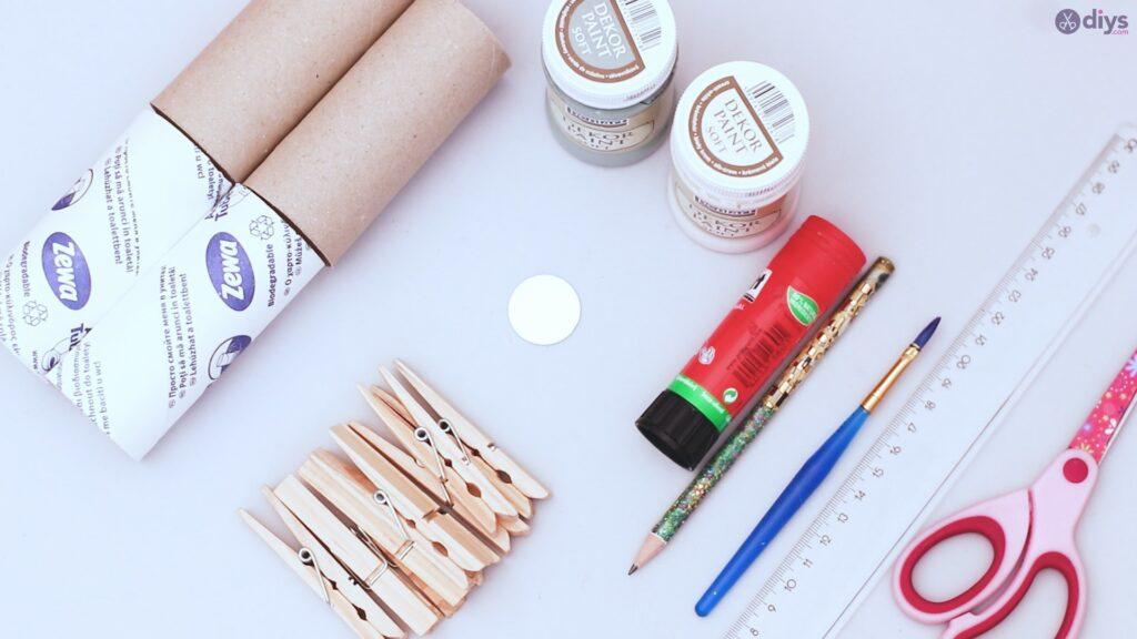 Papier toilette rouleau décoration murale matériaux de projet de bricolage