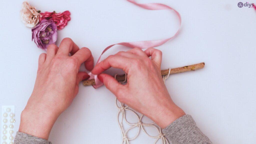 Projet de bricolage suspendu floral (26)