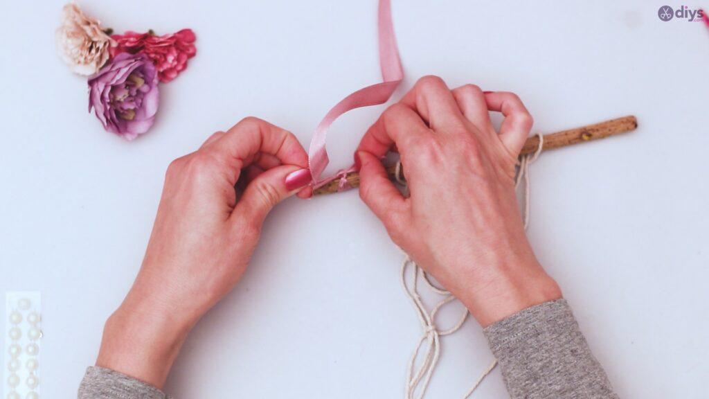 Projet de bricolage suspendu floral (27)