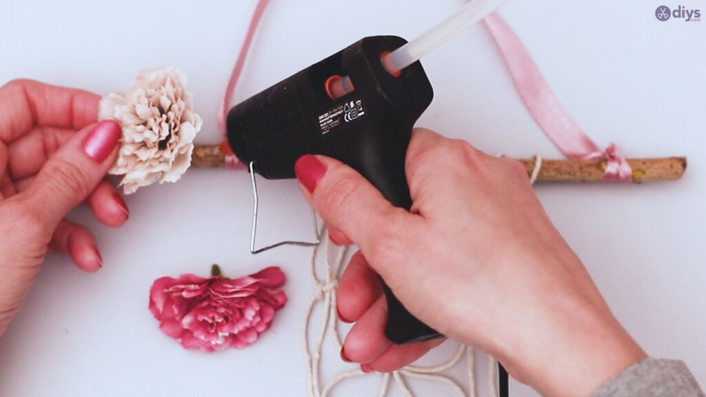 Projet de bricolage suspendu floral (31)