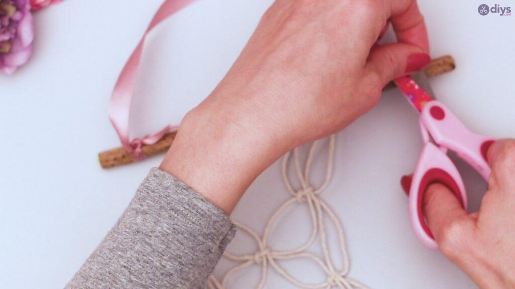 Projet de bricolage suspendu floral (29)